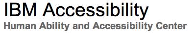 IBM-accessibility