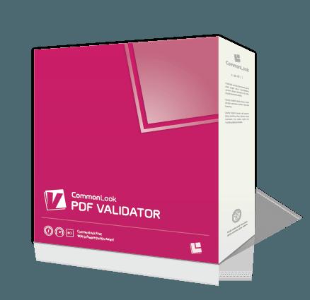 PDF Validator software box