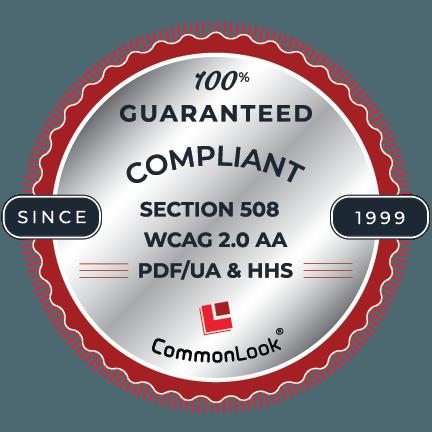 100 percent guaranteed compliant seal
