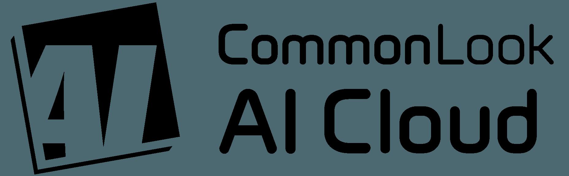 CommonLook AI Cloud Logo