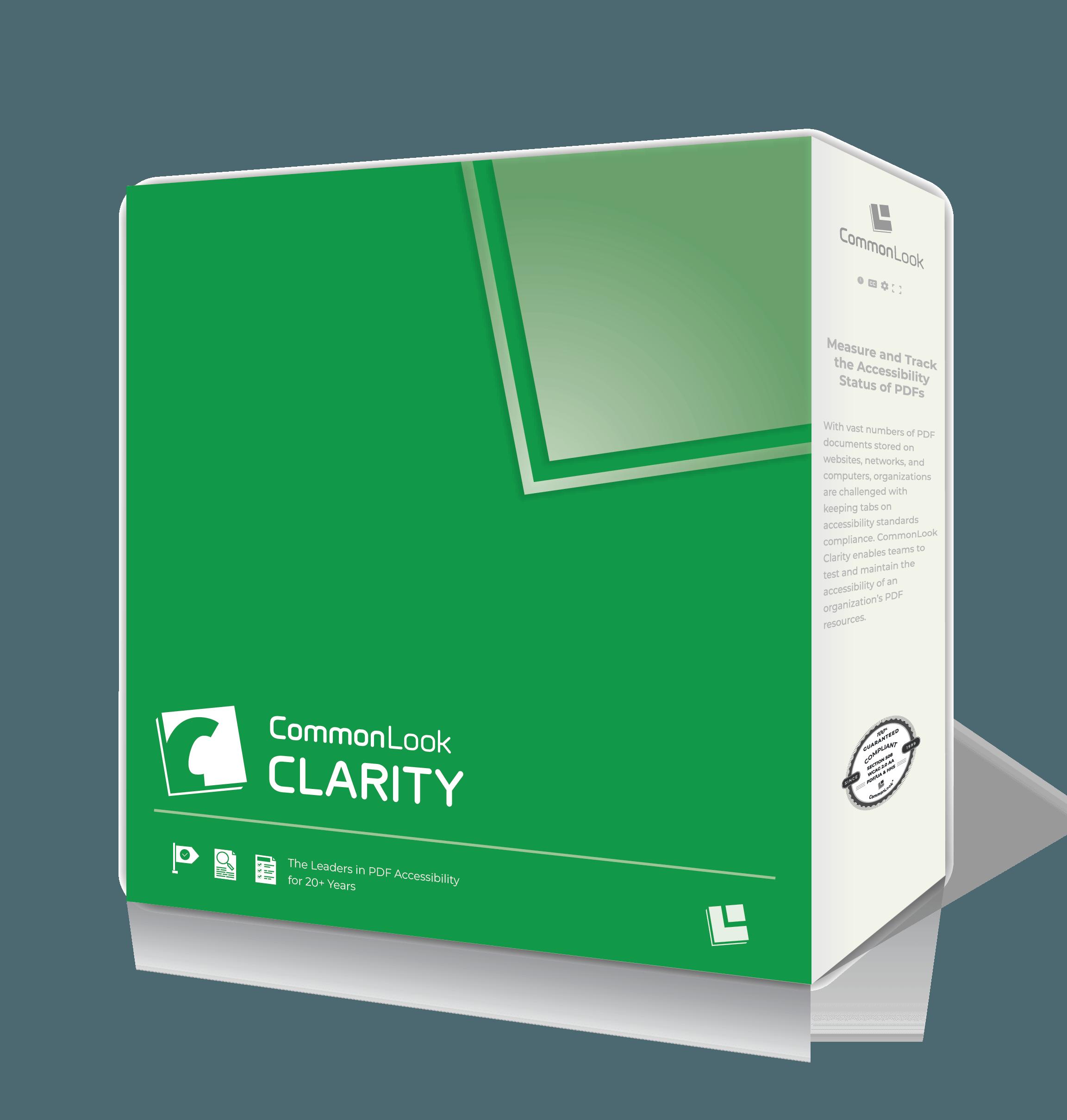 Clarity Product Box